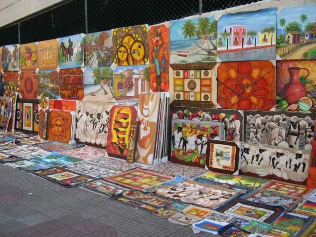 Exposition de peintures naïves