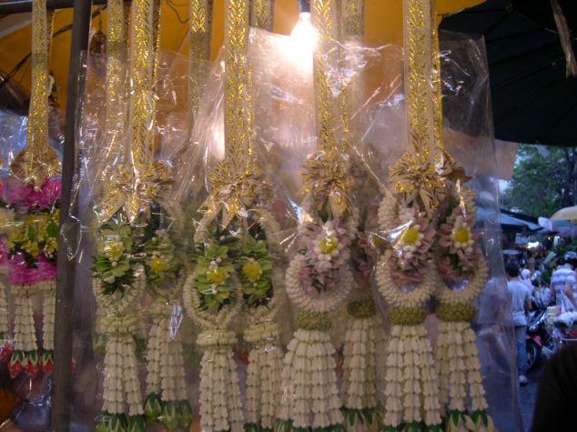 Marché aux fleurs à Bangkok n°2