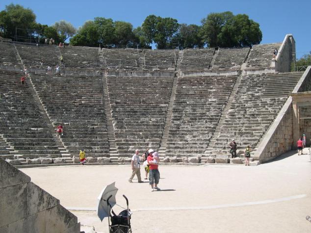A Epidaure son Théatre