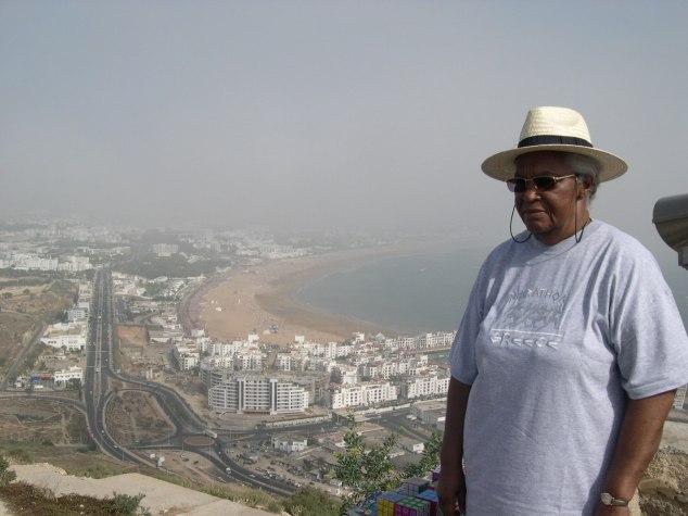 Agadir vue de loin