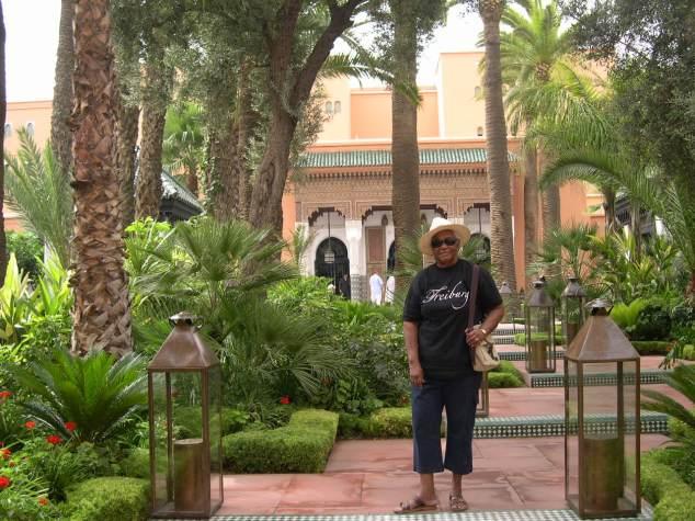 Dans les jardins de la Mamounia 1