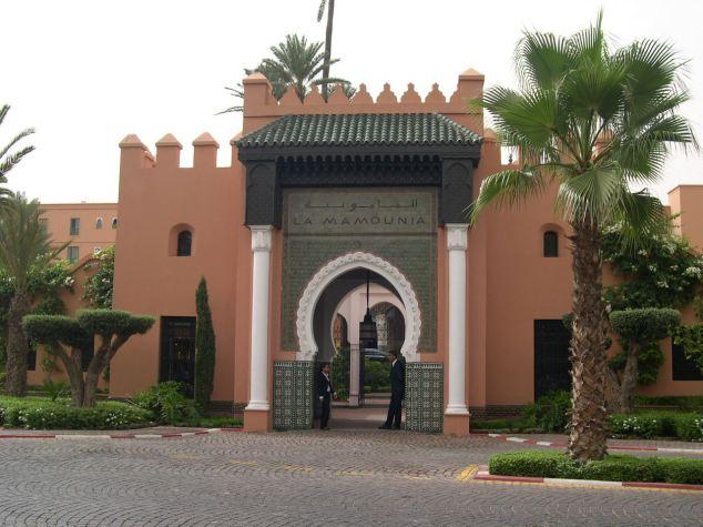 Hôtel la Mamounia
