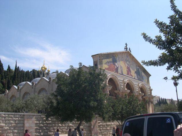 L'église de GETHSEMANIE