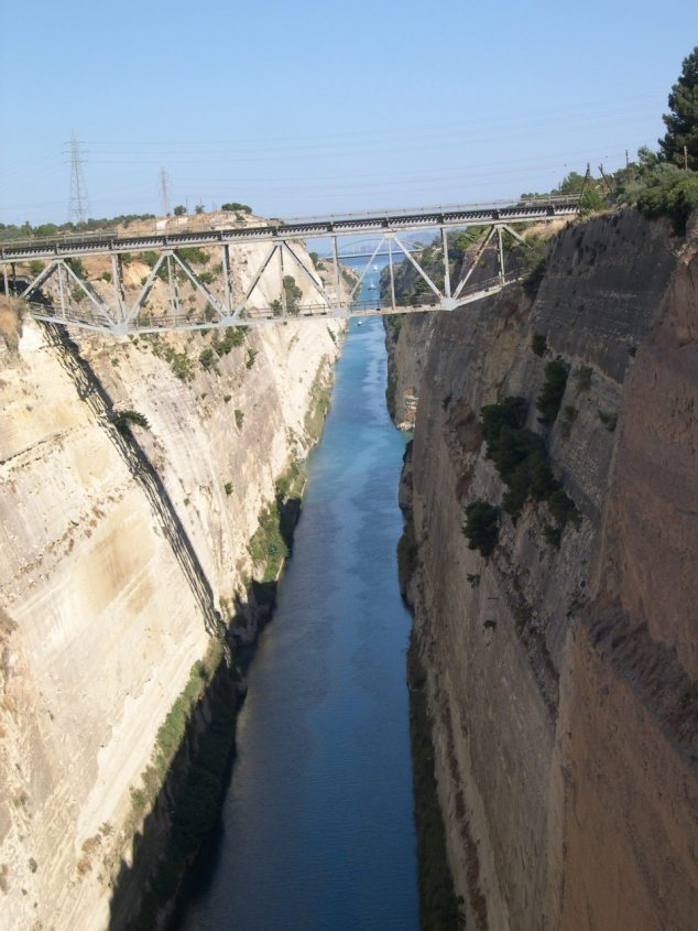 le canal de Corinthe 2