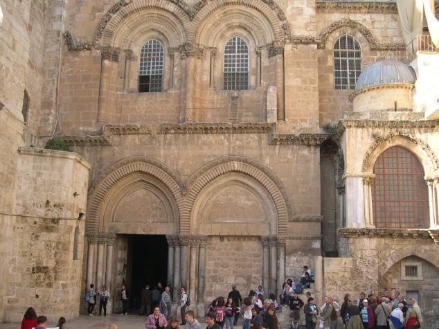 NAZARETH l'eglise de la Nativité 1