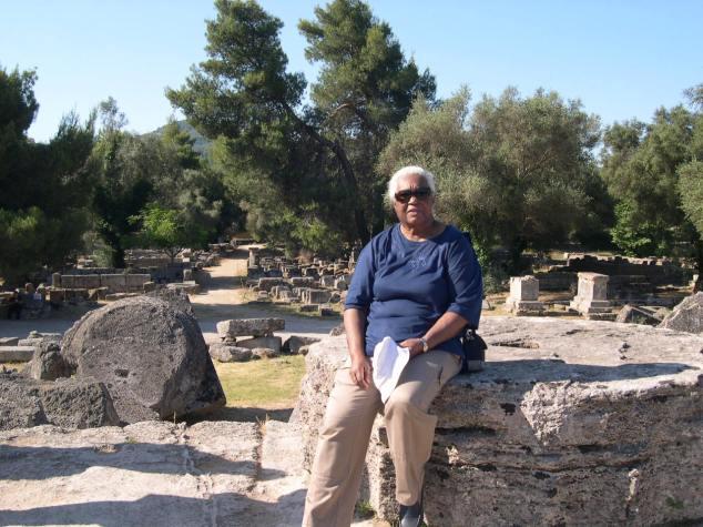 Olympie jeux en 776 avant J.C