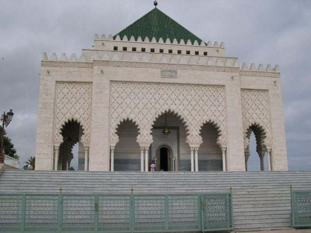 Rabat le Mausolée Mohamed V 2