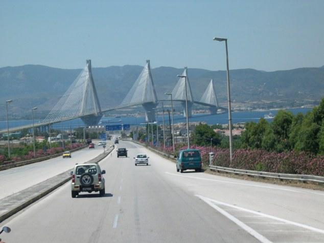 traversée du golfe de Corinthe 2