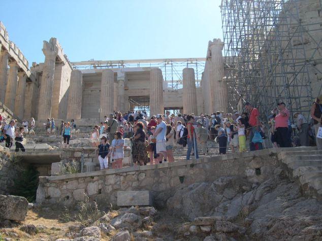 visite du Parthénon et de l'Acropole