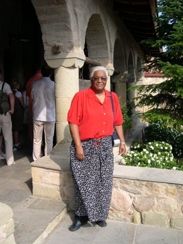 visite d'une Eglise et couvent au Météores