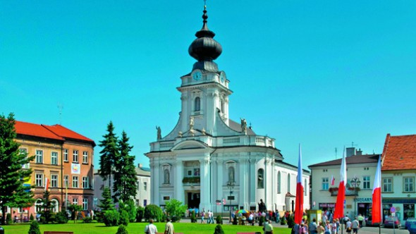 AWKH7R WADOWICE, POLAND. BIRTHPLACE OF POPE JOHN PAUL II (1920)