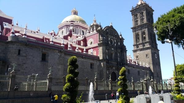 Puebla, la Cathédrale