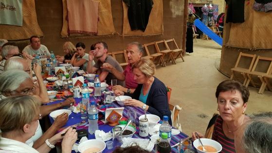 Déjeuner chez l'habitant à San Cristobal