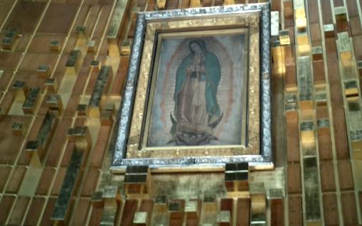 Cape Originale de l'Indien Juan Diego sur laquelle apparut la Ste Vierge