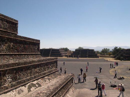 DSCN7010 Site archeologique de Teotihuacan ou cité des Dieux