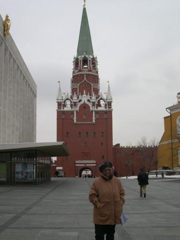 Jeanne en Russie