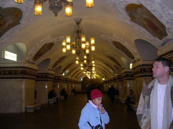 le Métro à Moscou 2