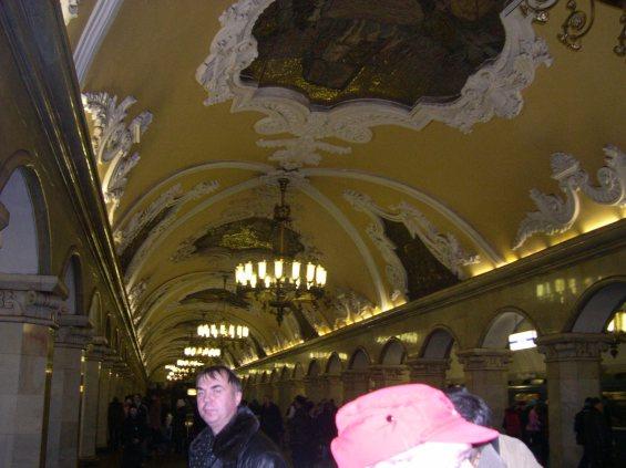 le Métro à Moscou 6