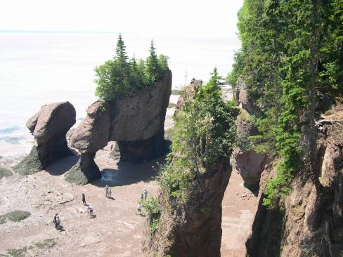 Les Rochers HOPEWELL ROCKS 1