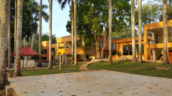 Notre hôtel à Uxmal