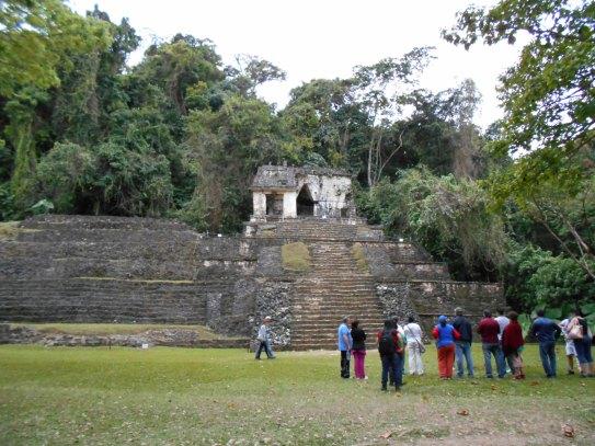 DSCN0047 Visite du Site de Palenque