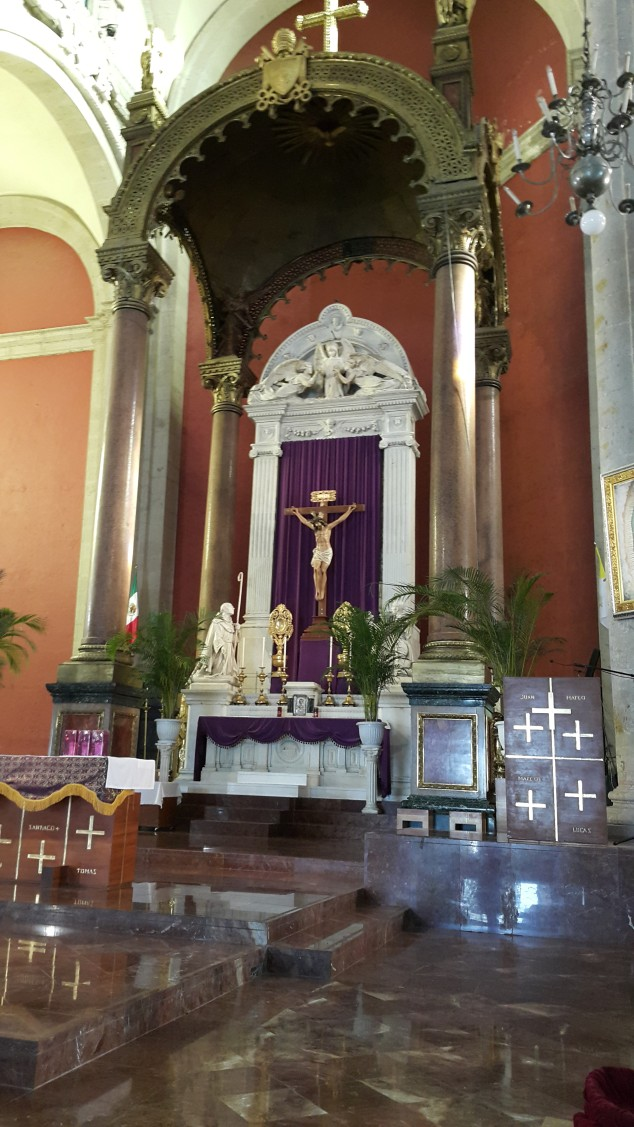 Mexico, ancienne Notre Dame de la Guadeloupe