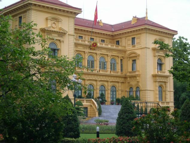 Le Parlement à Hanoi