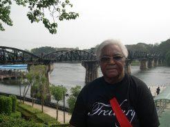 Le pont de la Rivière KwaÏ n°3
