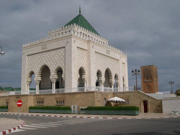 Rabat le Mausolée Mohamed V
