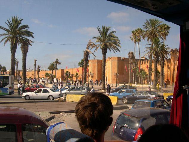 Rabat les remparts tour de la ville 2