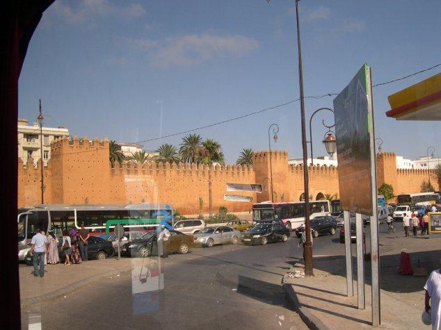 Rabat les remparts tour de la ville