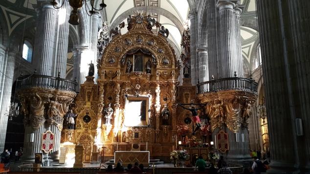 Mexico, la Cathédrale