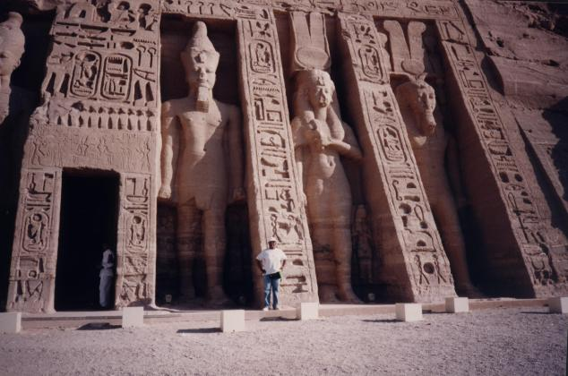 Abou Simbel Temple d'Hathor