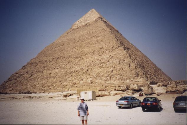 La piramide de Khéops