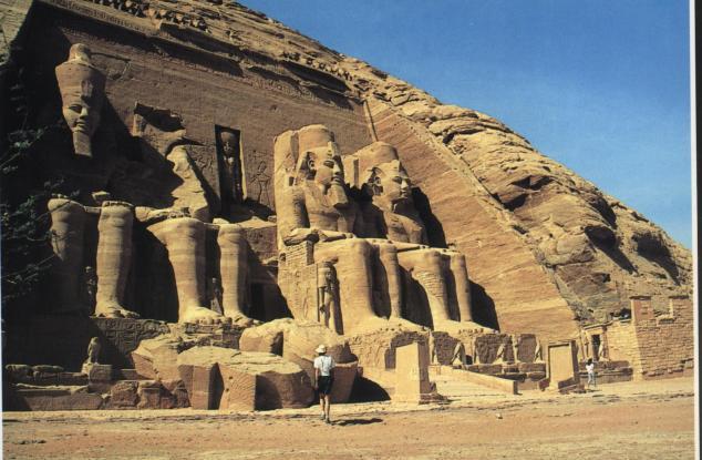 Les quatre Colosses de Ramsès II