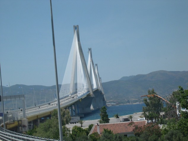 Pont reliant Olympie et Delphes