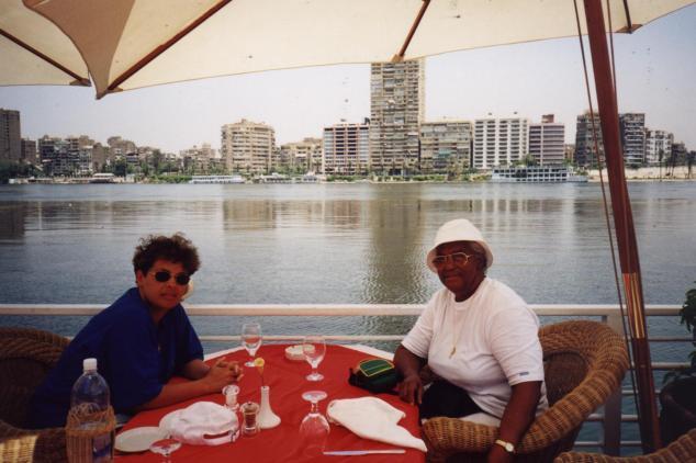 sur le Nil au Caire