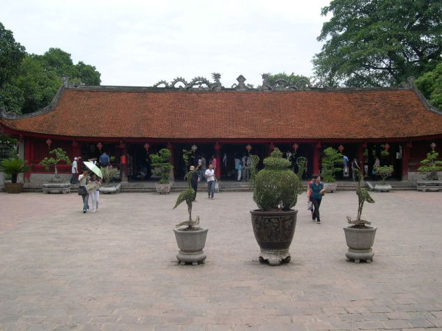 Visite du Temple de Conficius 4