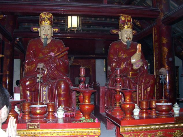 Visite du Temple de Conficius 7 les Boudha