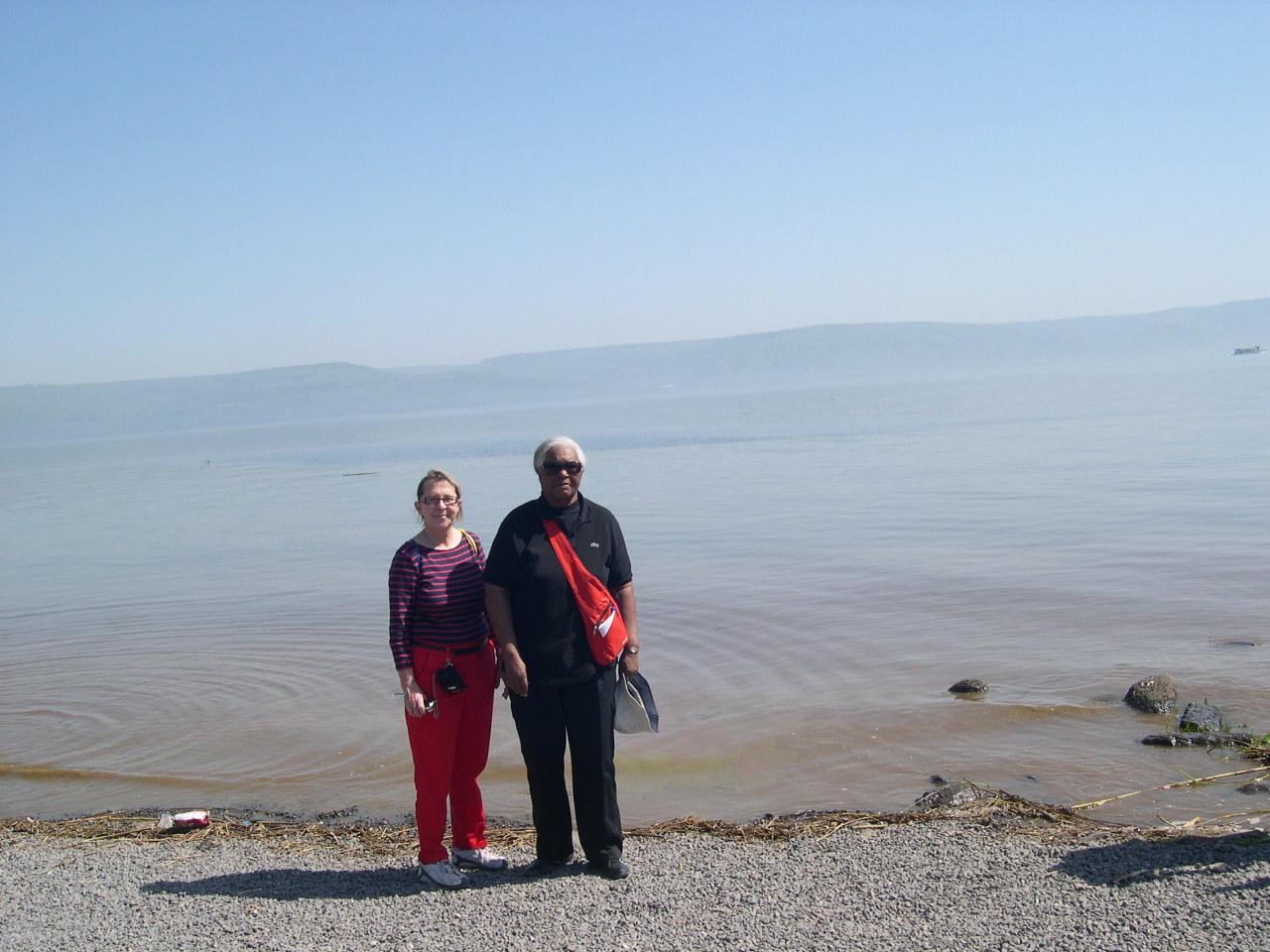 Au Lac de Tibériade 2