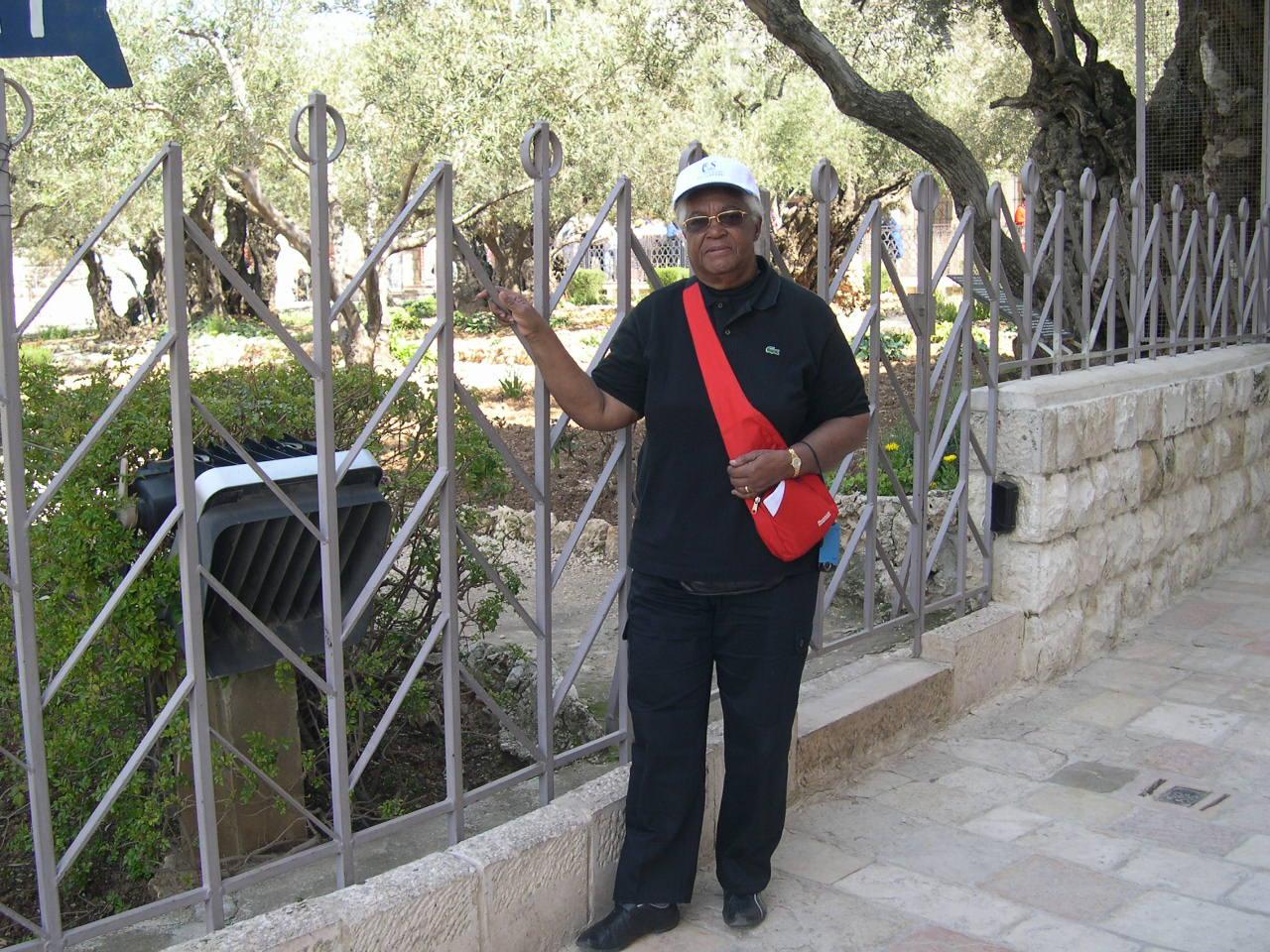 Au Mont des Oliviers à Jérusalem