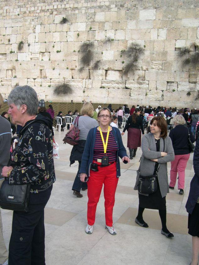 au mur des Lamentations partie femme