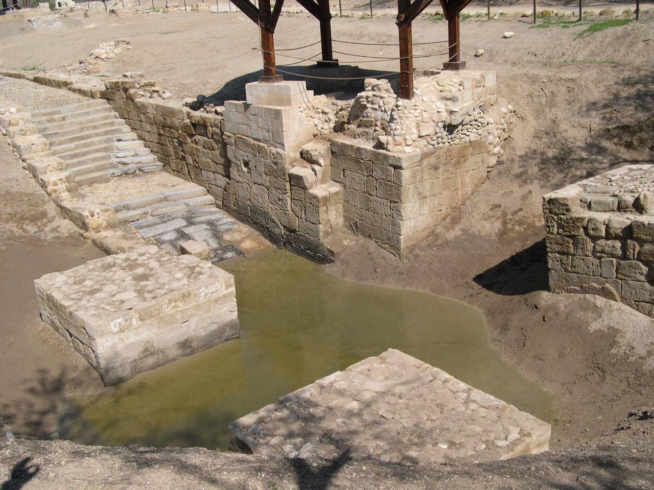 BETHANIE lieu du Bpthème du CHRIST 1