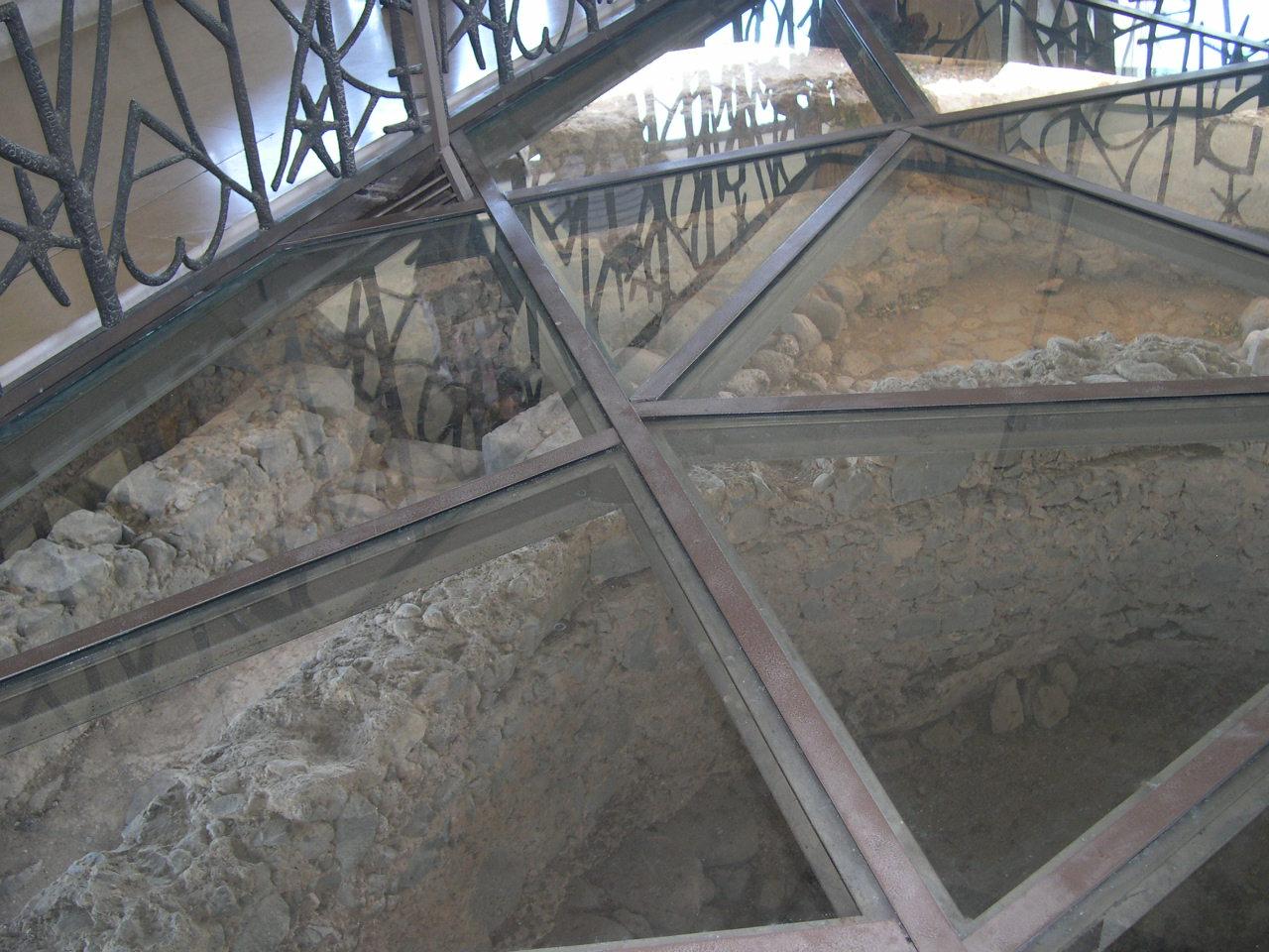 vestiges de la maison de ST Pierre