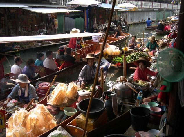 marché flottant n°2