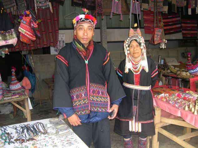 tribu karen originaires du myanmar