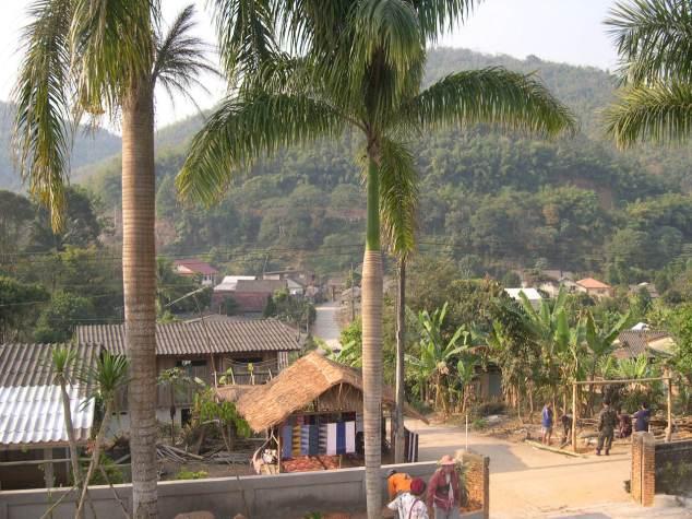 village d'agriculteurs karen