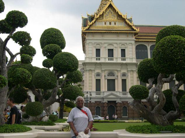 visite du palais royal à bangkok
