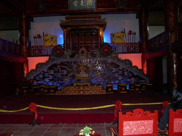 Visite de la Cité Imprériale des Nguyen 5 le Théatre