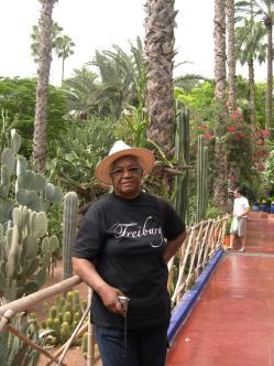 Au jardin Majorelle à Marrakech 1